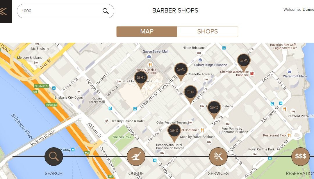 New – Barber Search